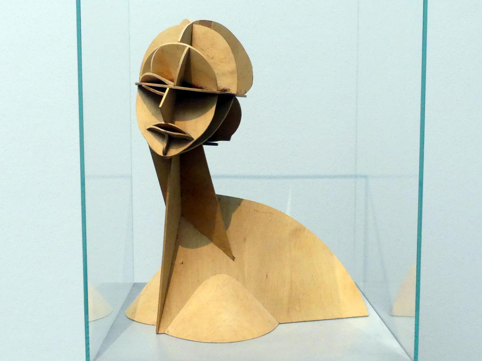 Naum Gabo: Konstruktiver Kopf Nr.1, 1915