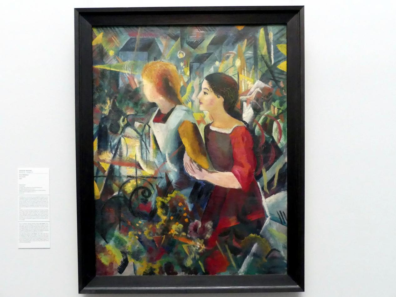 August Macke: Zwei Mädchen, 1913