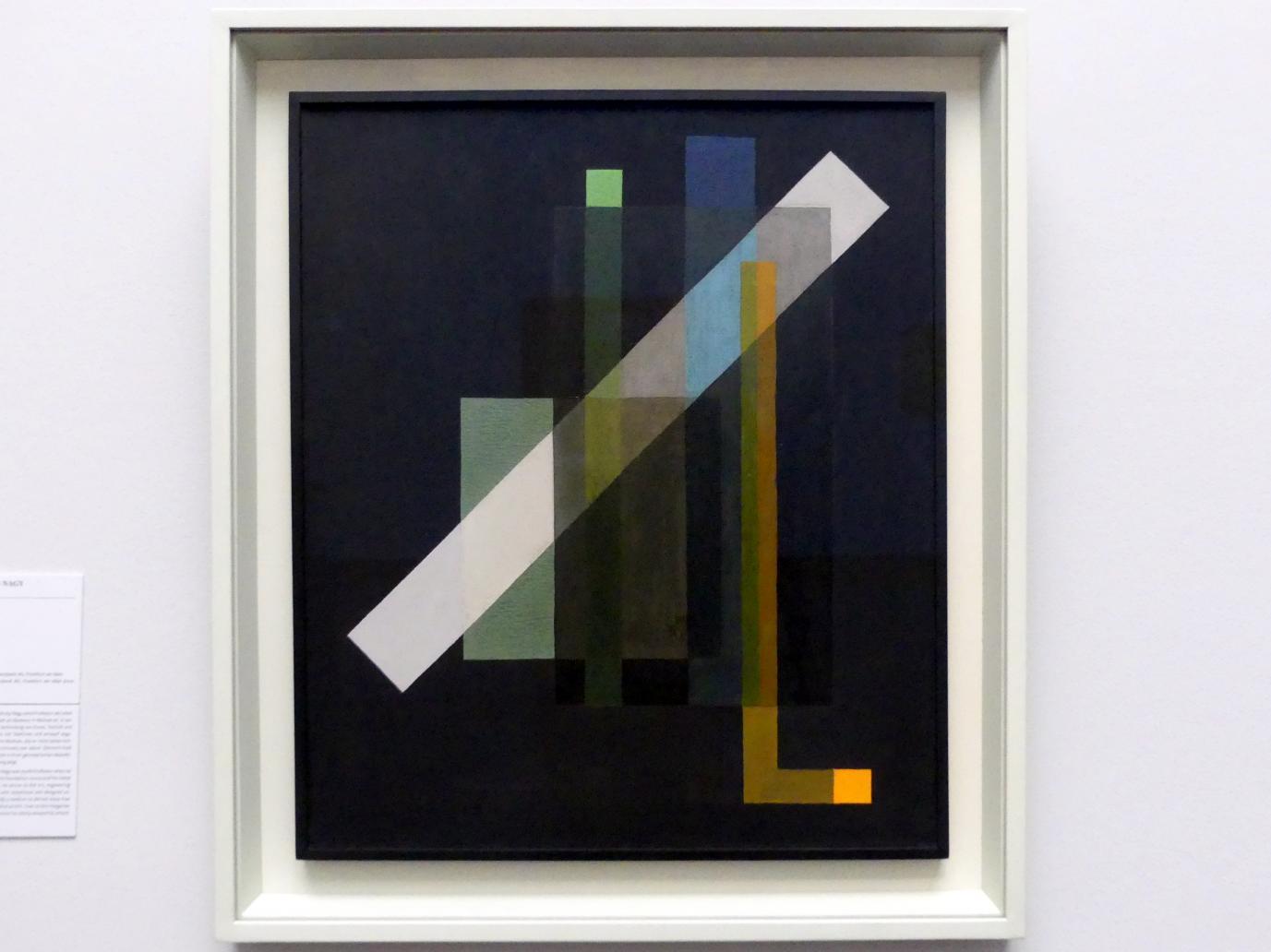 László Moholy-Nagy: Konstruktion, 1924