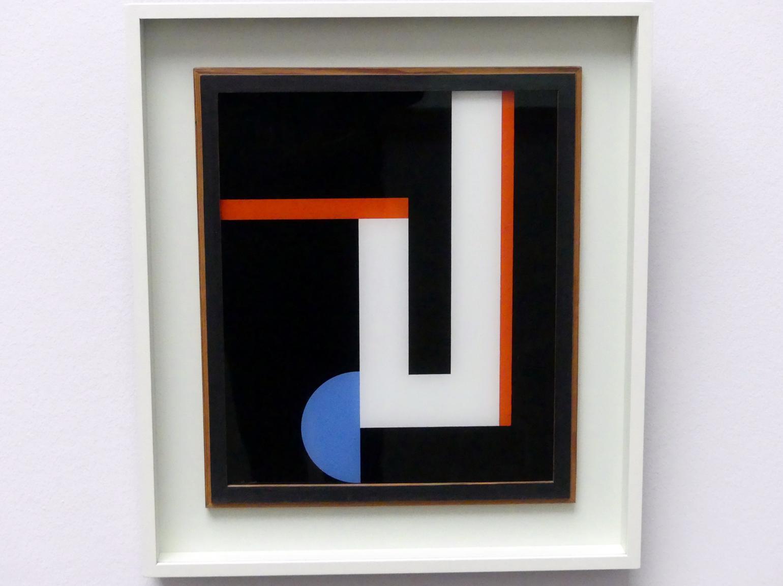 Walter Dexel: Glasbild II oder Blaue Scheibe, 1928