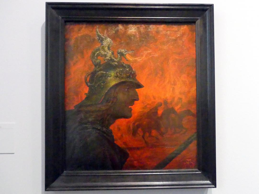 Hans Thoma: Der Krieg, 1907