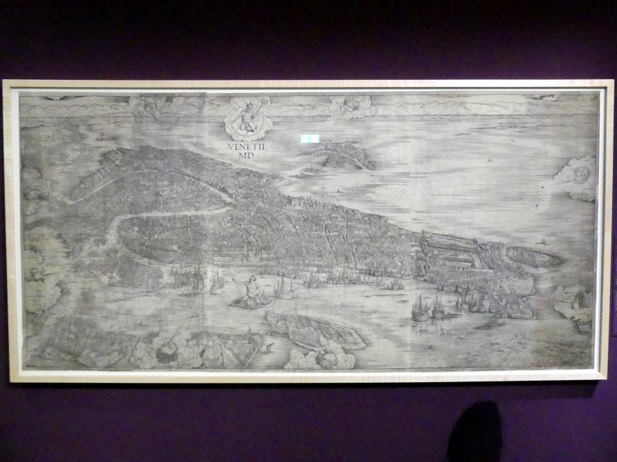 Jacopo de' Barbari: Ansicht von Venedig, 1498 - 1500