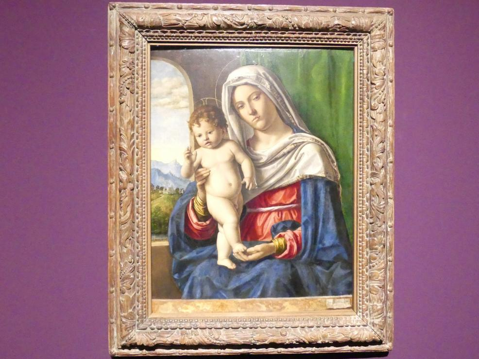 Giovanni Battista Cima (Cima da Conegliano): Madonna mit Kind, um 1500