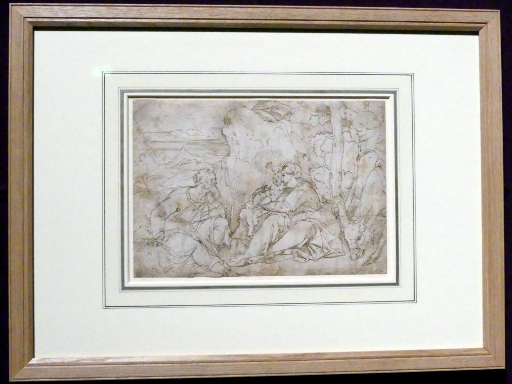 Jacopo Palma il Vecchio (Jacomo Nigretti de Lavalle): Ruhe auf der Flucht nach Ägypten, Um 1515 - 1525