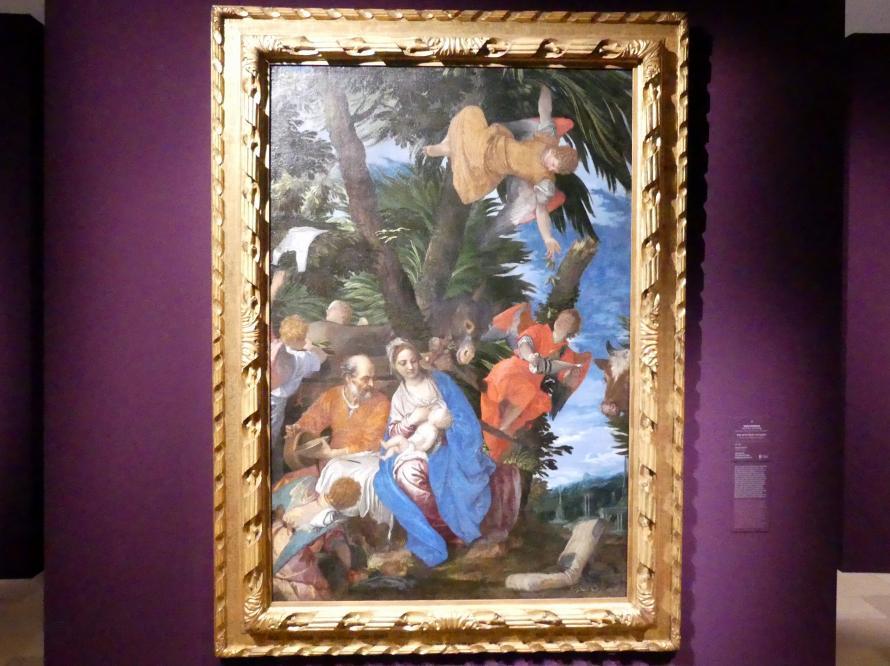 Paolo Caliari (Veronese): Ruhe auf der Flucht nach Ägypten, um 1572