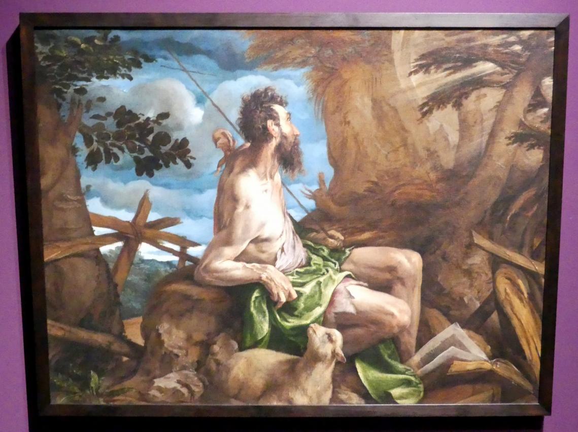 Jacopo Bassano (da Ponte): Der heilige Johannes der Täufer in der Wildnis, 1558