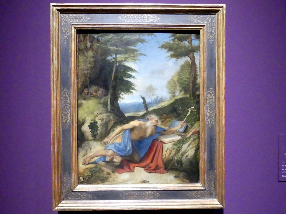 Lorenzo Lotto: Der heilige Hieronymus als Büßer, um 1513 - 1518