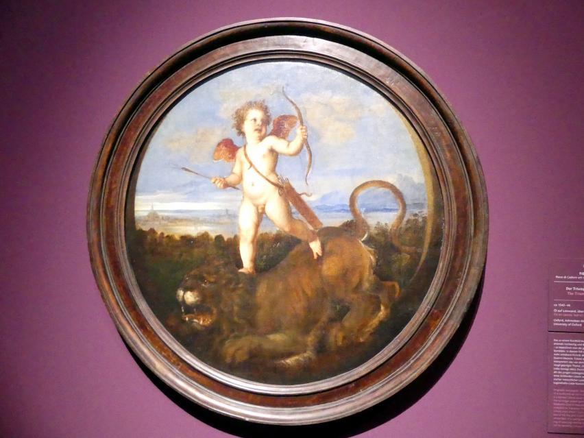 Tiziano Vecellio (Tizian): Der Triumph der Liebe, um 1543 - 1546