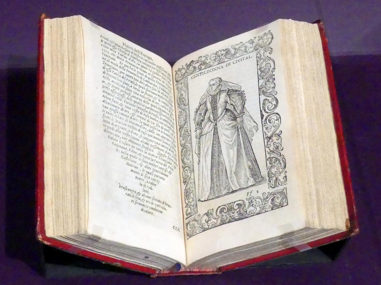 Cesare Vecellio: De gli habiti antichi, et moderni di diverse parti del mondo libri due, 1590