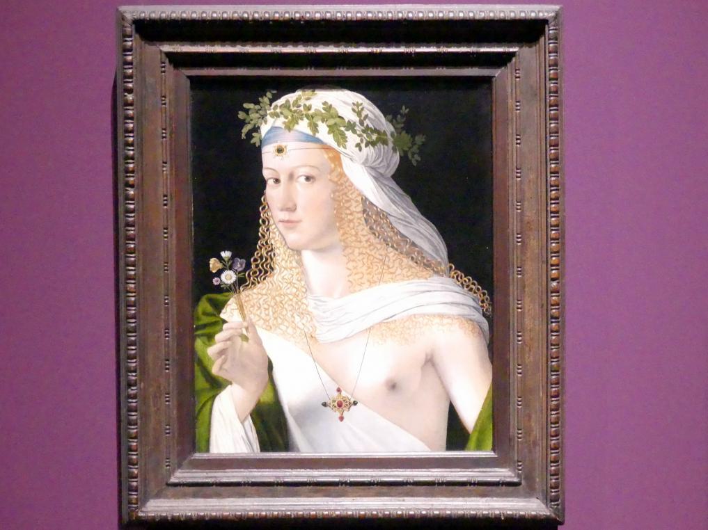 Bartolomeo Veneto: Idealbildnis einer jungen Frau, um 1520