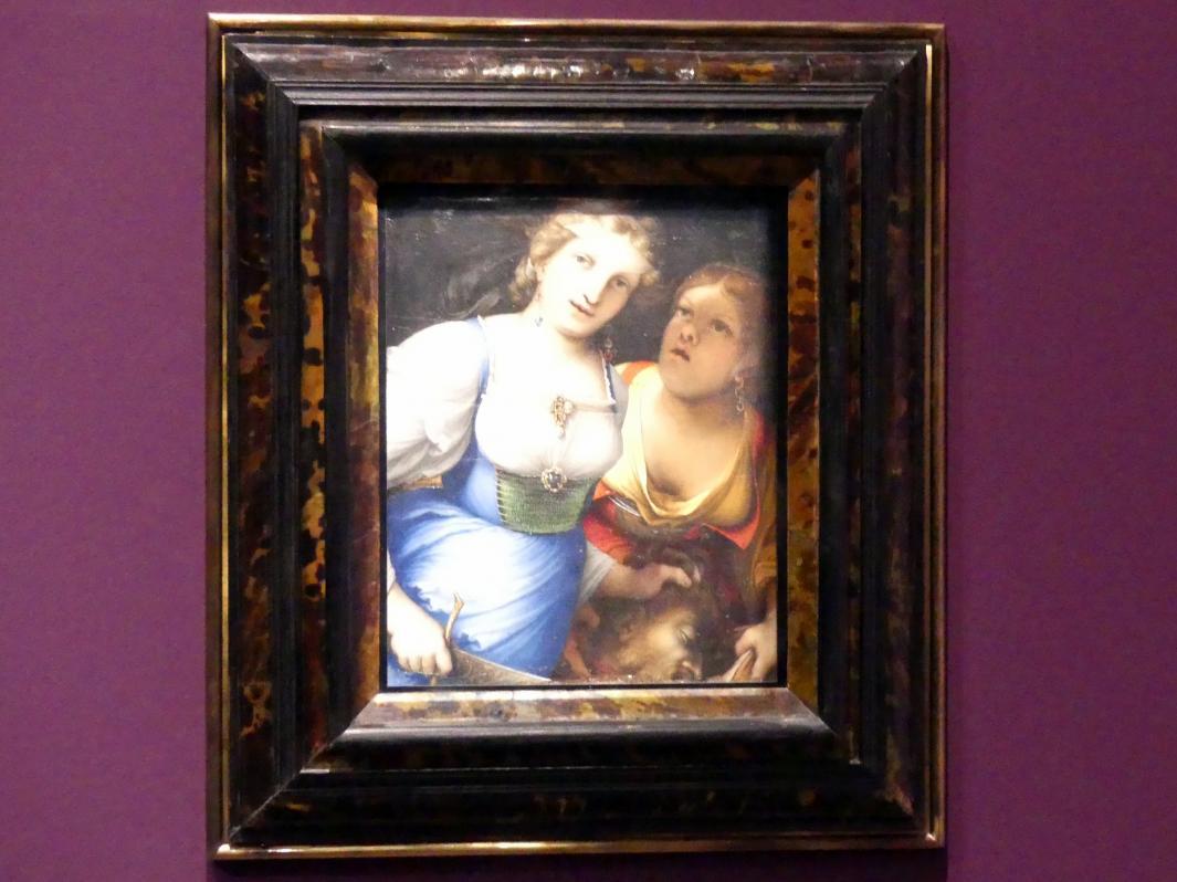 Lorenzo Lotto: Judith mit dem Haupt des Holofernes, 1512
