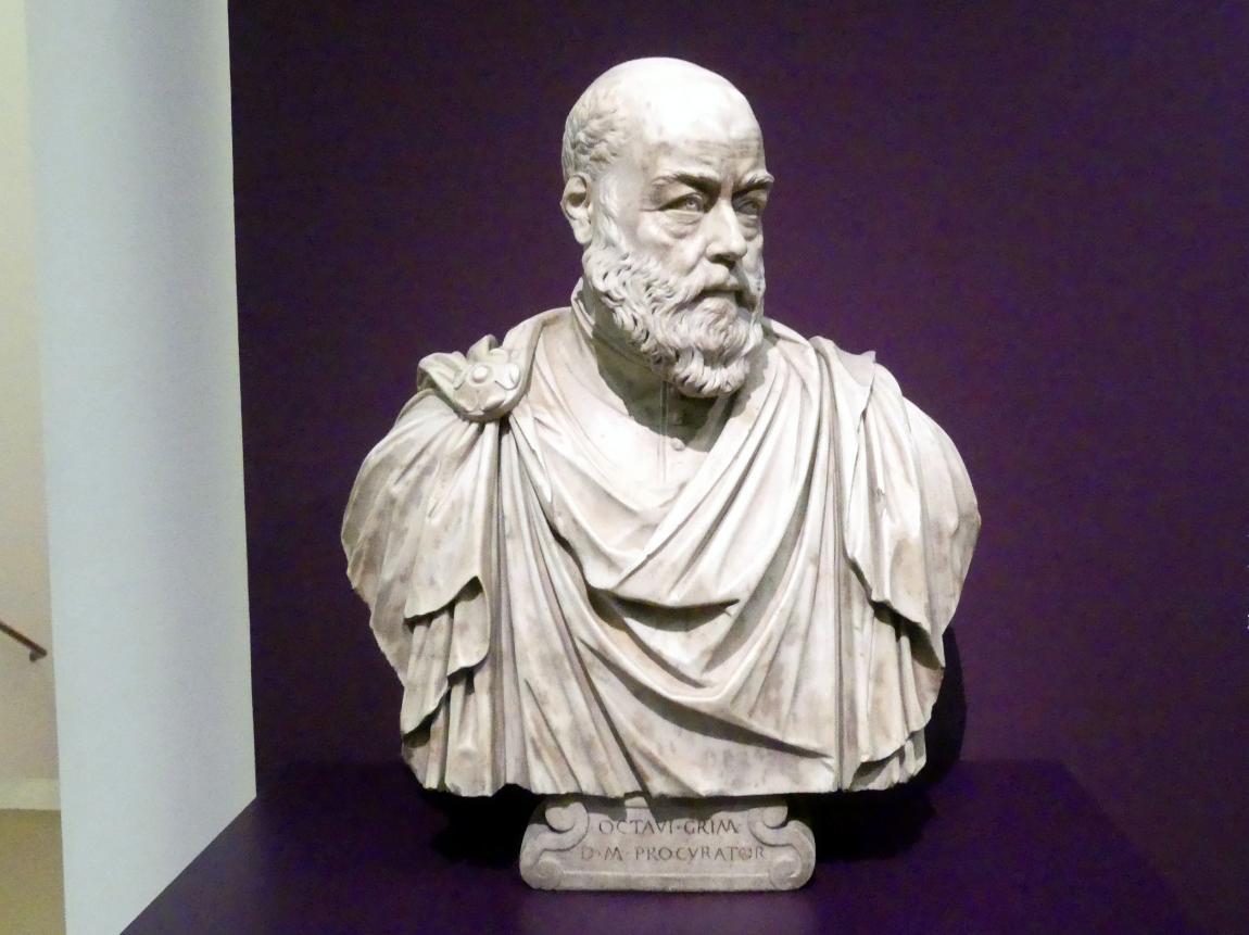 Alessandro Vittoria: Bildnis des Ottavio Grimani, Um 1570 - 1580