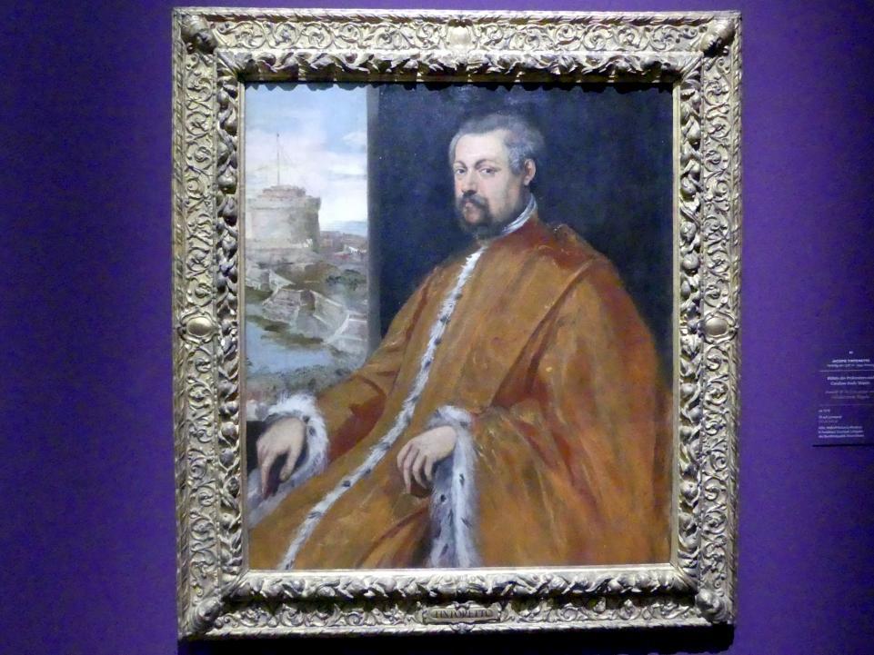 Jacopo Robusti (Tintoretto): Bildnis des Prokurators und Cavaliere Paolo Tiepolo, Um 1578