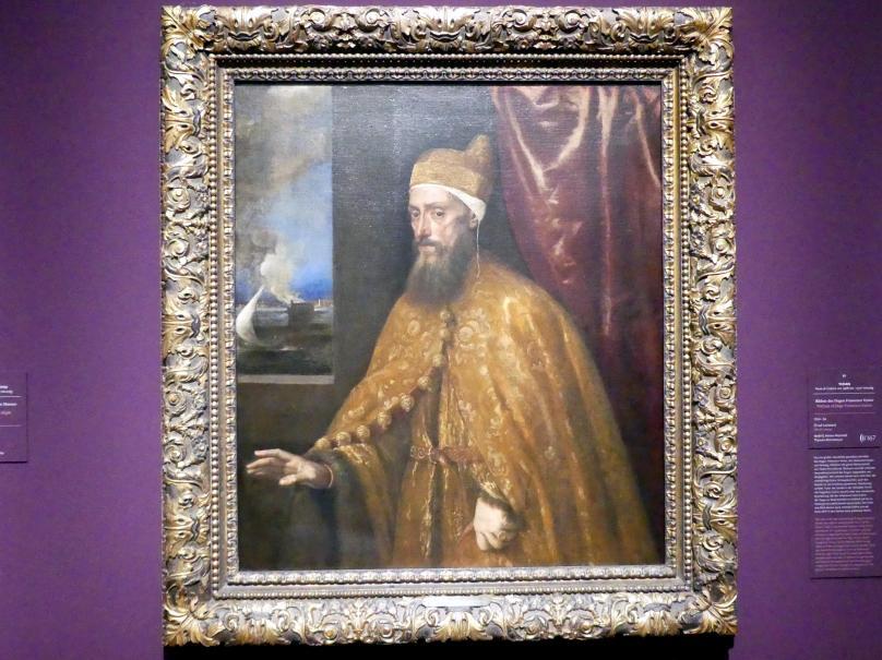 Tiziano Vecellio (Tizian): Bildnis des Dogen Francesco Venier, 1554 - 1556