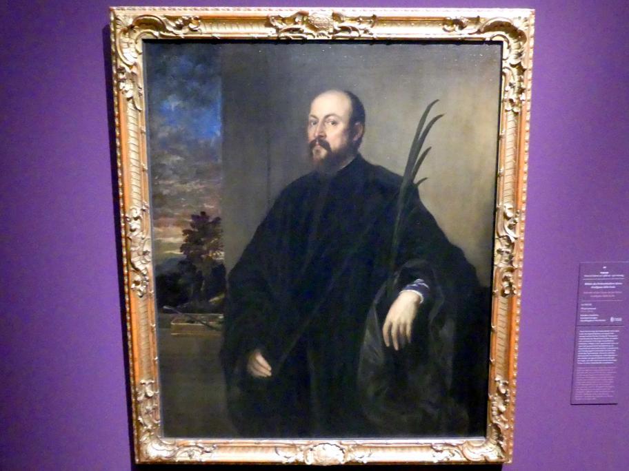 Tiziano Vecellio (Tizian): Bildnis des Farbenhändlers Alvise Gradignan dalla Scala, um 1561 - 1562