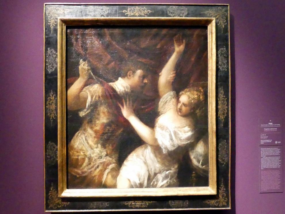 Tiziano Vecellio (Tizian): Tarquinius und Lucretia, um 1570 - 1575