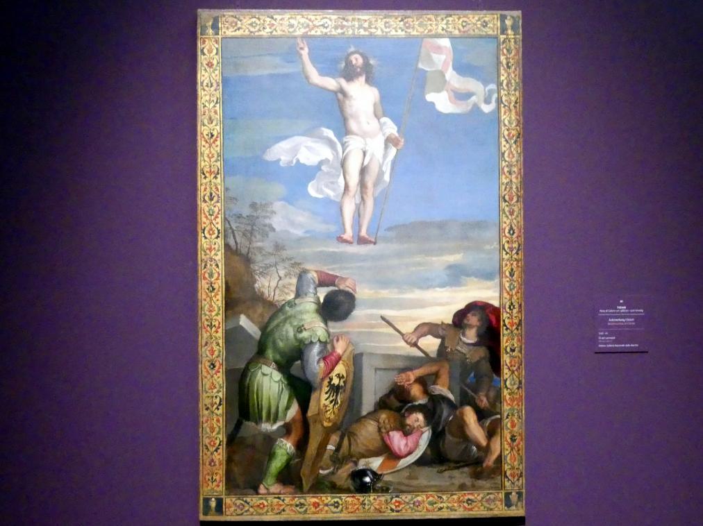 Tiziano Vecellio (Tizian): Auferstehung Christi, 1542 - 1544