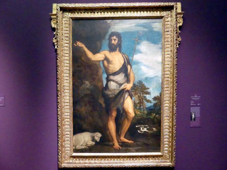 Tiziano Vecellio (Tizian): Heiliger Johannes der Täufer, um 1530 - 1533