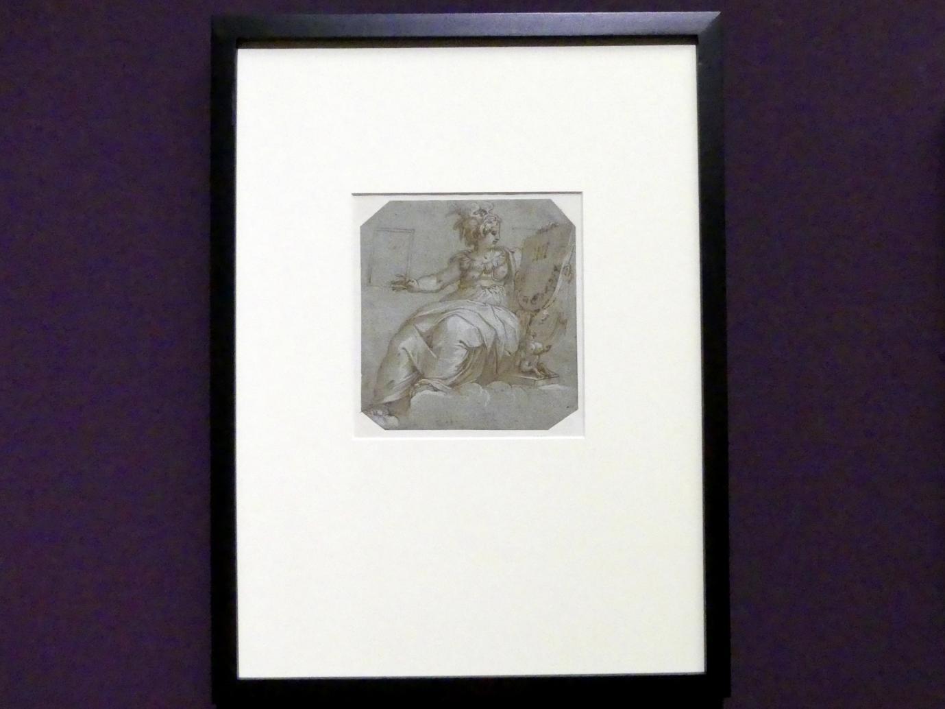 Giorgio Vasari: Studie für Allegorie der vierten Hore des Tages, 1541 - 1542