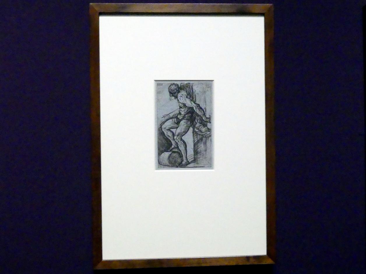 Tiziano Vecellio (Tizian): Studie für den heiligen Sebastian, Um 1520