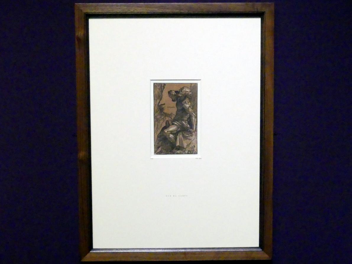 Ugo da Carpi: Der heilige Hieronymus als Büßer (nach Tizian), um 1516