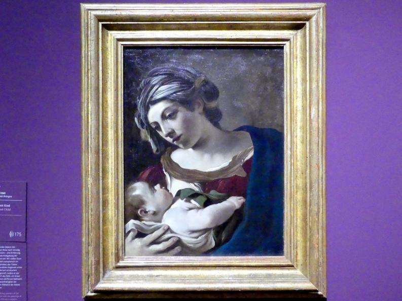 Giovanni Francesco Barbieri (Il Guercino): Madonna mit Kind, Um 1621 - 1622