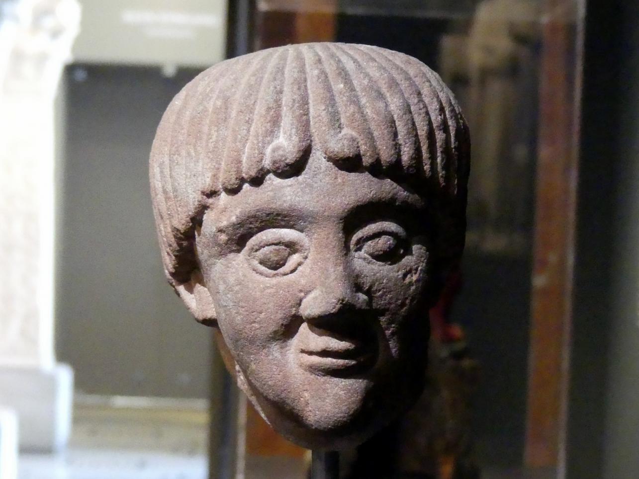 Kopf eines Geistlichen, Um 1200