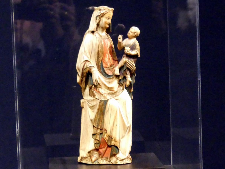 Thronende Muttergottes, um 1300 - 1330