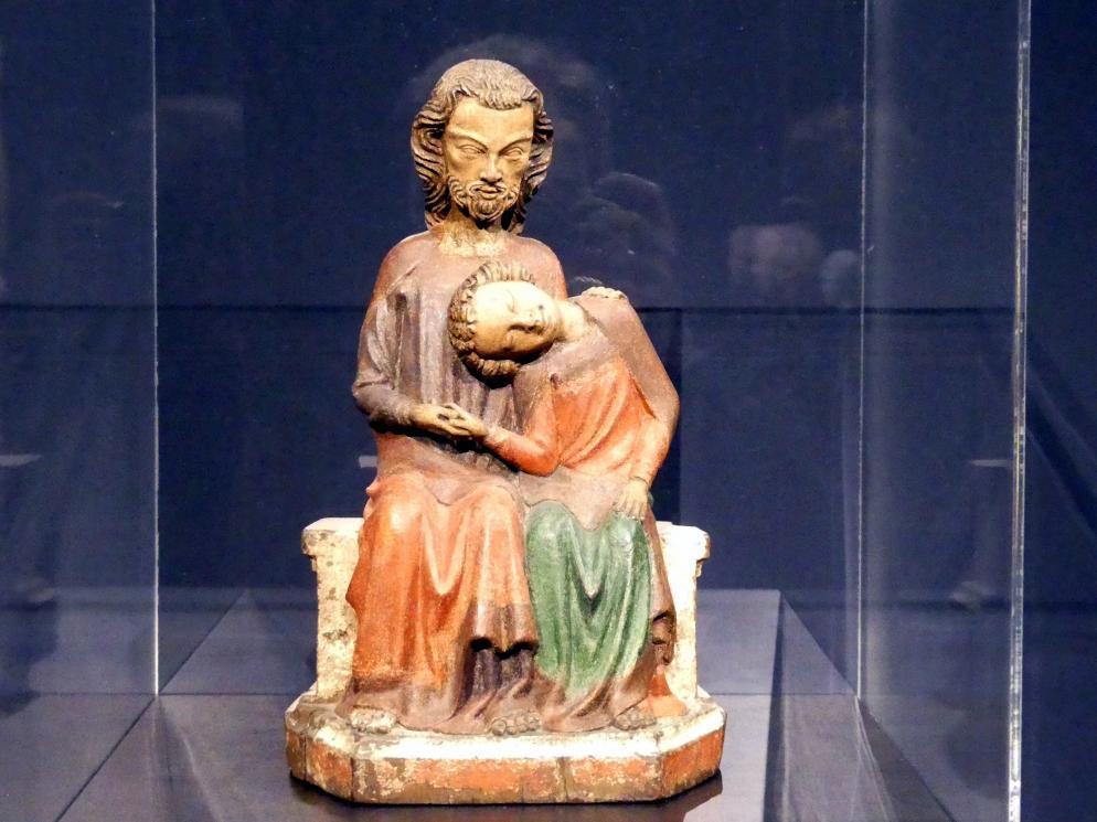 Christus und Johannes, Um 1350