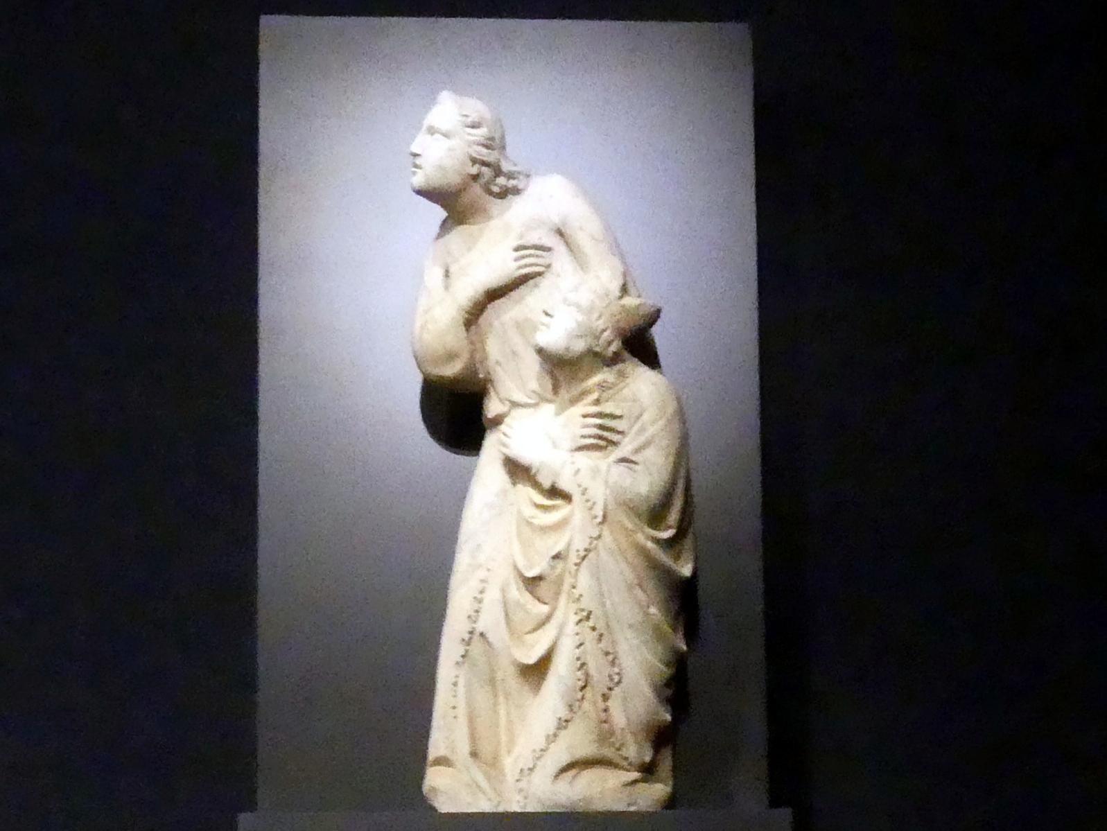 Tino di Camaino: Engel als Sarkophagträger, Um 1318 - 1319