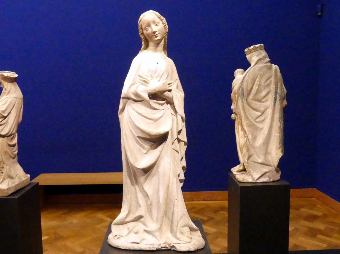 Meister von Großlobming: Maria einer Verkündigungsgruppe, Um 1400