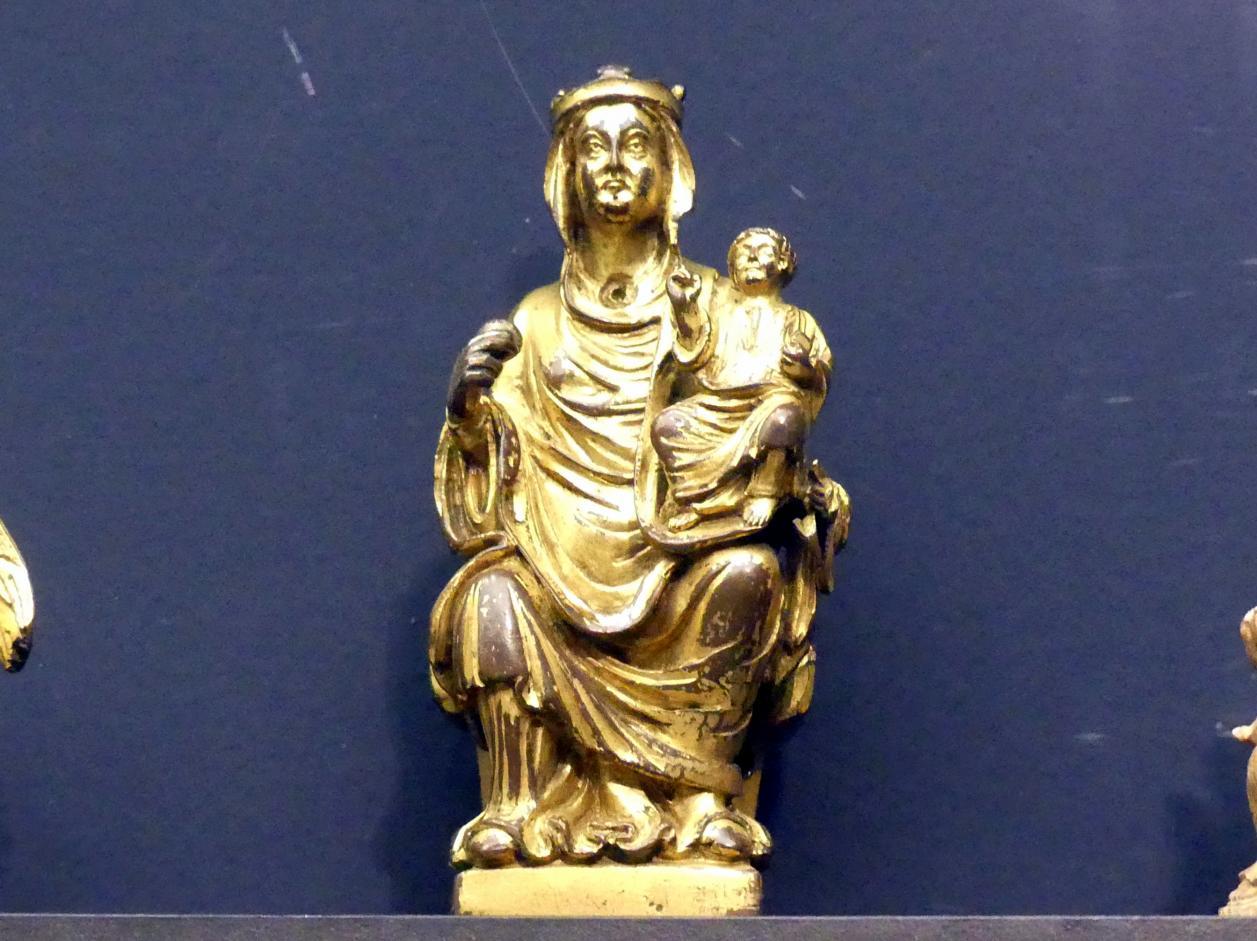 Thronende Muttergottes, um 1200 - 1230
