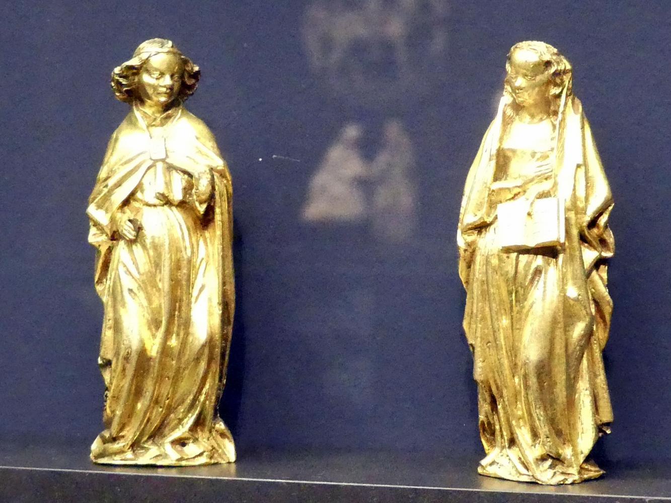 Engel und Maria einer Verkündigung, um 1440 - 1460