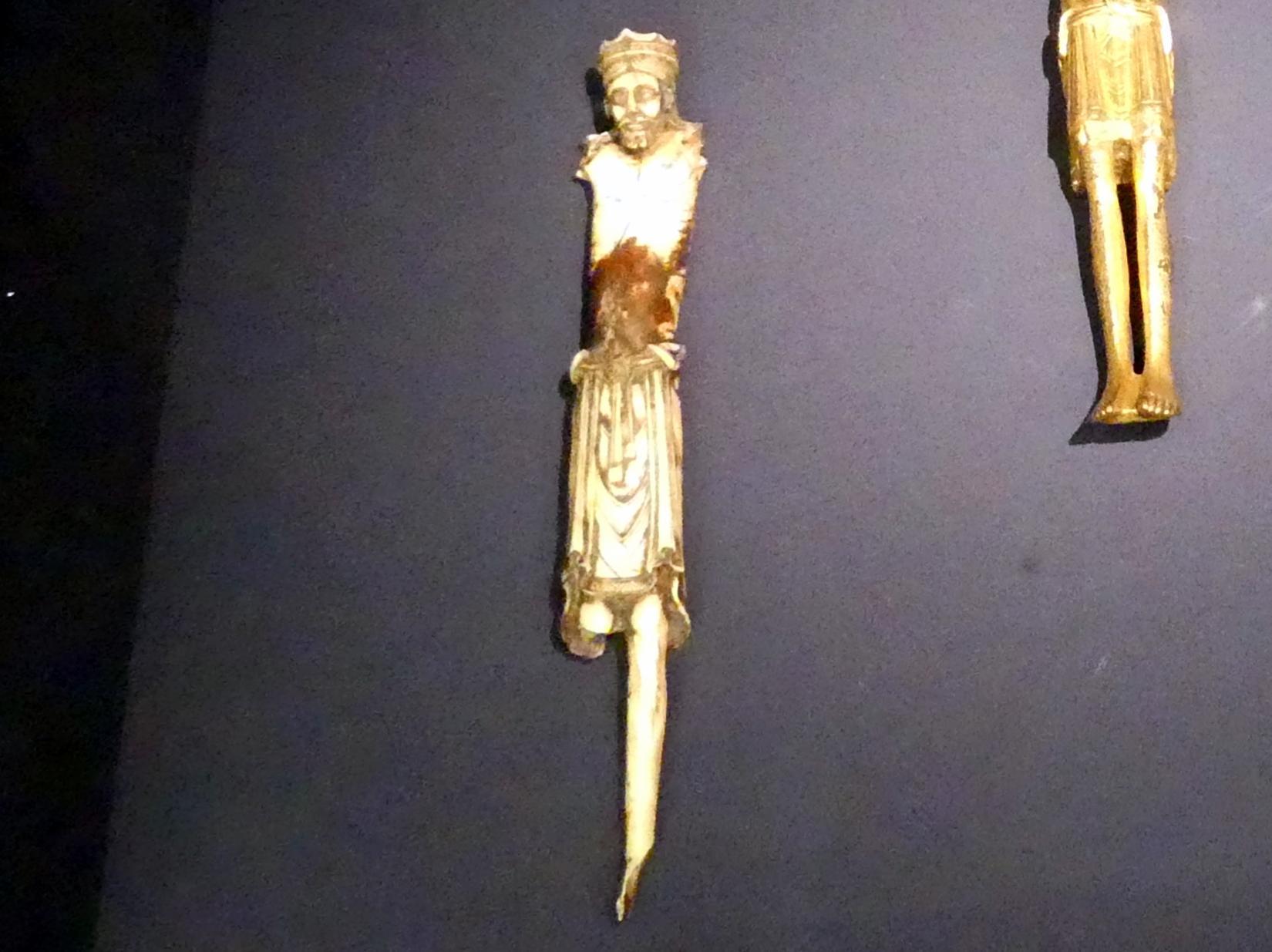 Gekreuzigter Christus (Fragment), Um 1100