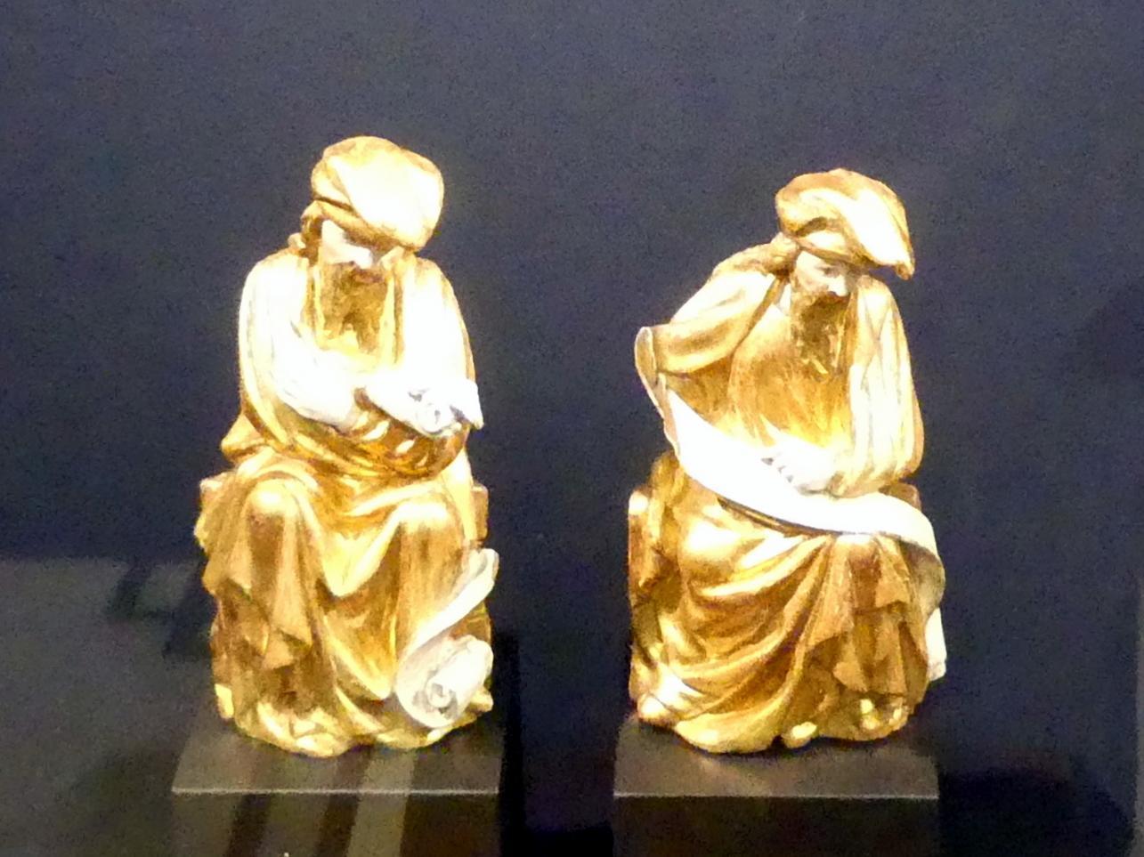 Sitzende Propheten, Um 1400