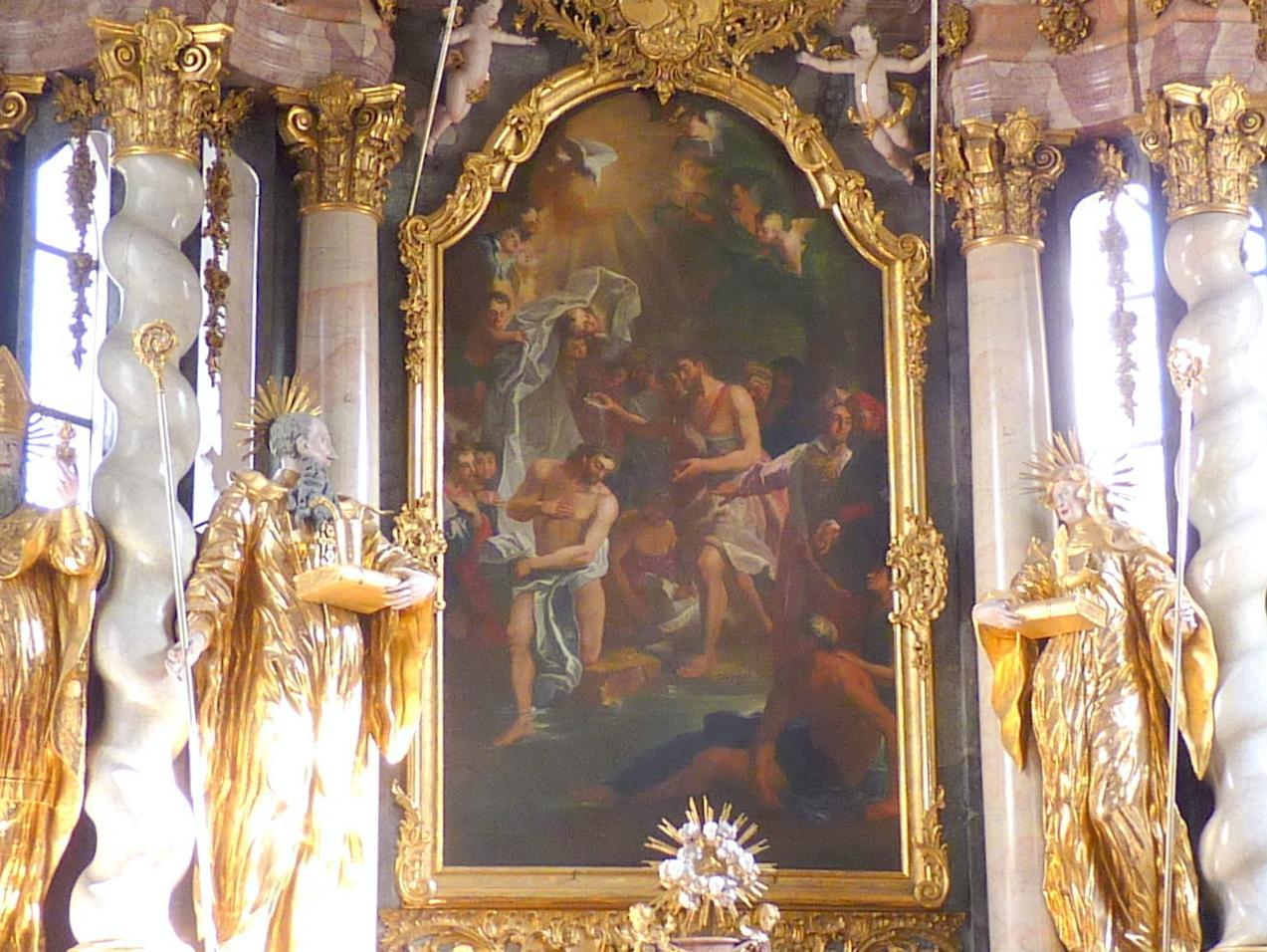 Franz Anton Rauscher: Taufe Jesu, um 1770