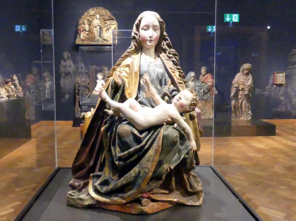 Thronende Muttergottes, um 1470