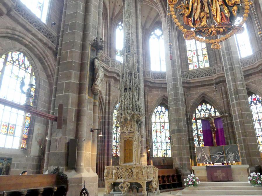 Adam Kraft: Sakramentshäuschen, 1493 - 1496