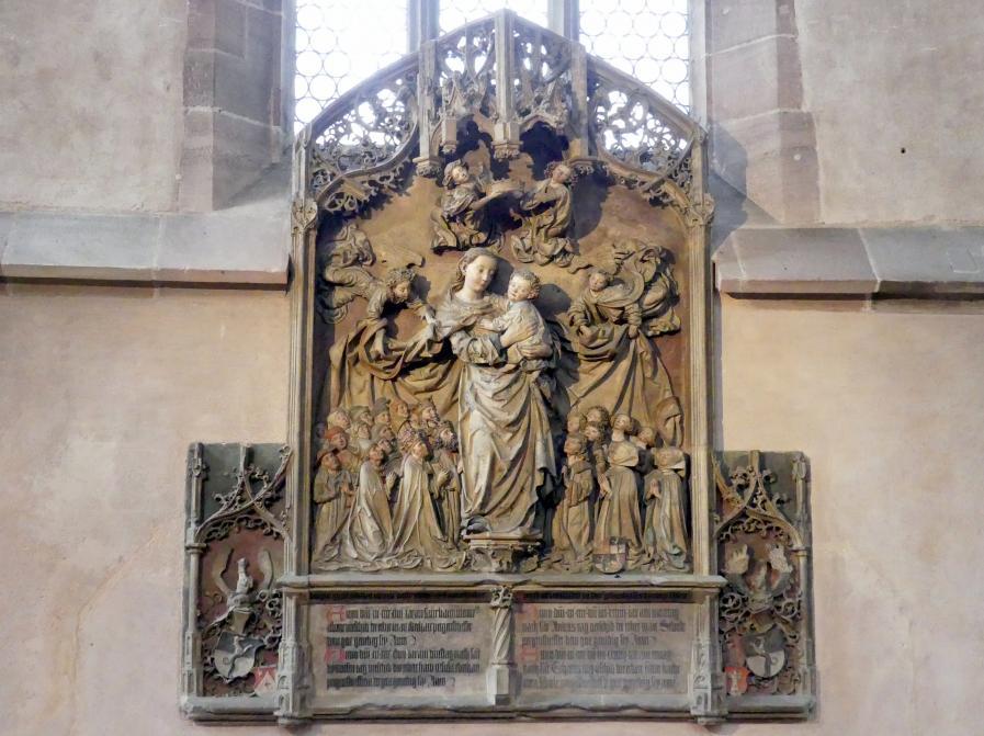 Adam Kraft: Peringsdörffersches Sandstein-Epitaph, um 1498