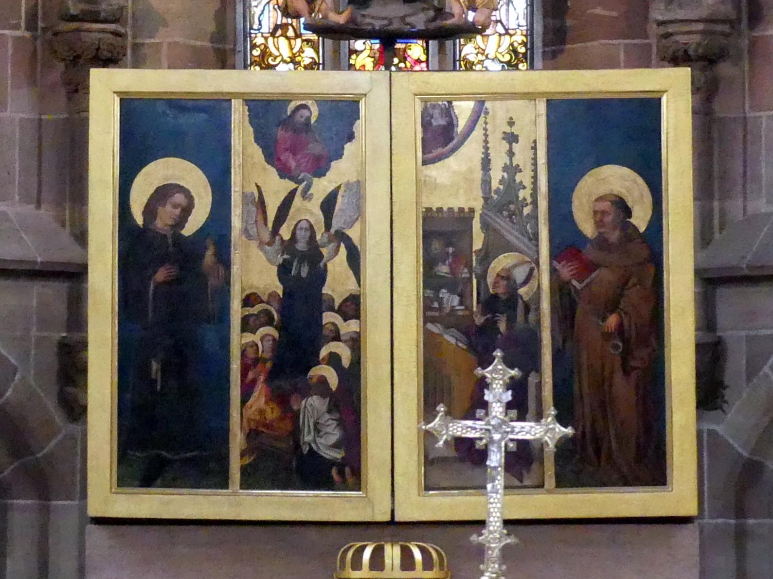 Meister des Tucheraltars: Tucher-Altar, um 1445 - 1450