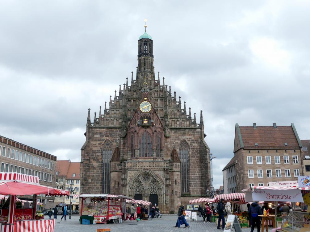 Peter Parler: Bau der Frauenkirche Nürnberg, 1352 - 1362
