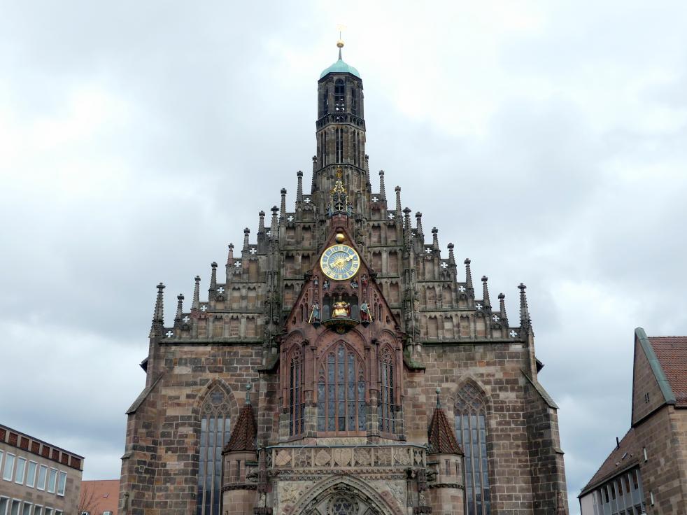 Adam Kraft: Westgiebel der Frauenkirche Nürnberg, 1506 - 1508
