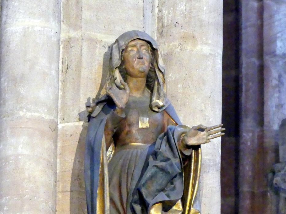 Veit Stoß: Maria und Johannes einer Kreuzigungsgruppe, 1507 - 1508