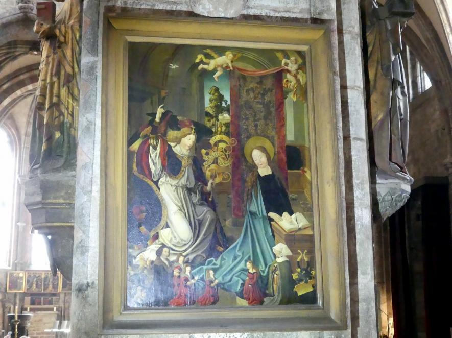 Albrecht Dürer (Umkreis): Mariä Verkündigung, Undatiert