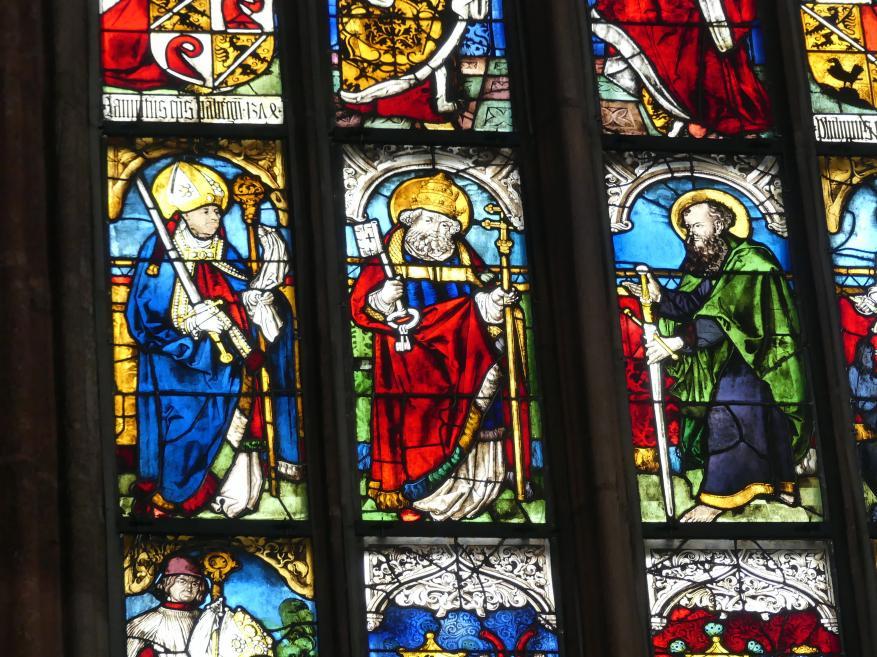 Albrecht Dürer: Glasfenster, um 1500
