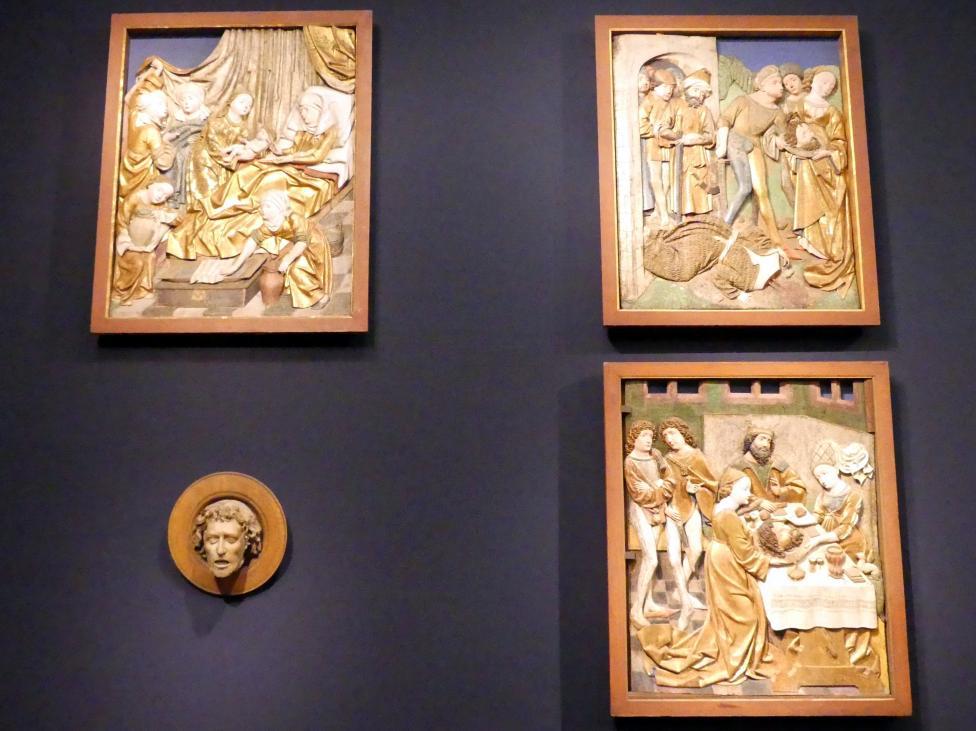 Szenen aus der Legende Johannes des Täufers, Um 1475