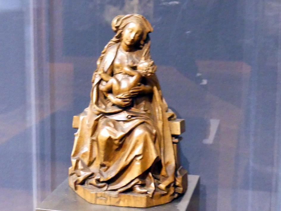 Michel Erhart: Maria stillt das Jesuskind, um 1490 - 1495