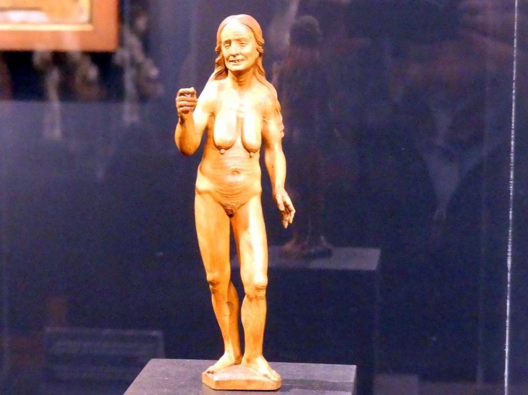 Daniel Mauch: Nackte Alte, Um 1520