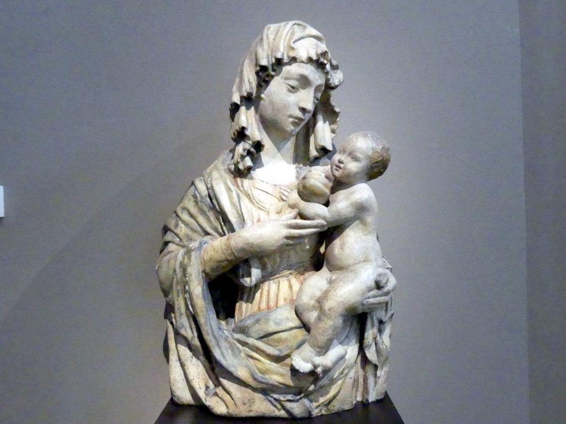 Madonna mit Kind, 1. Hälfte 15. Jhd.