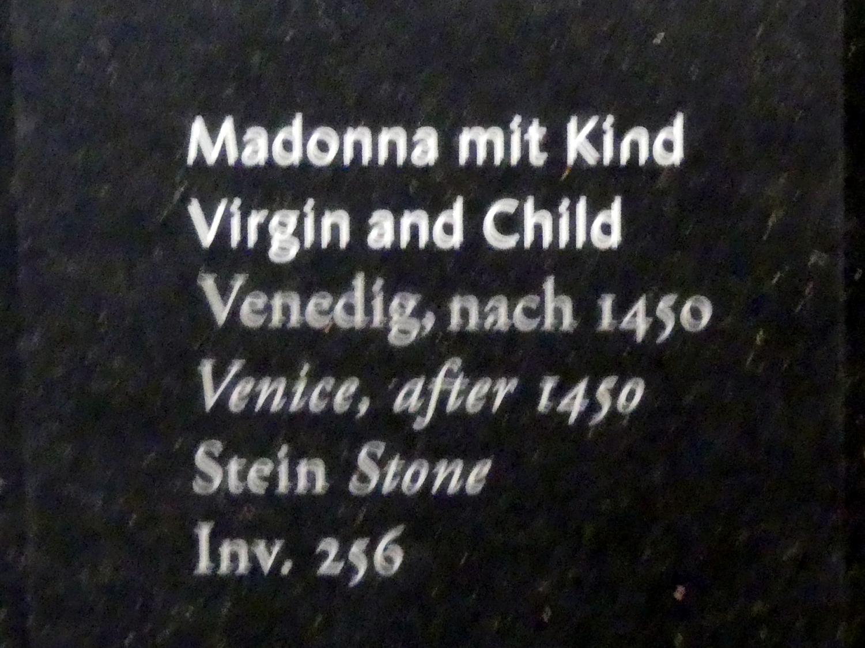 Madonna mit Kind, nach 1450, Bild 2/2